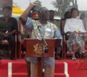 Prez Kufuor Launches MCA In Ghana